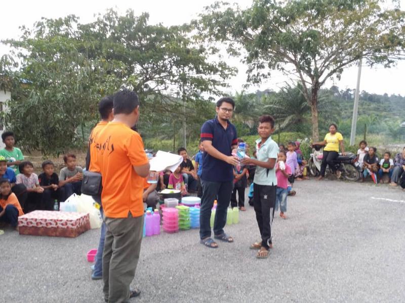 Pprogram Sehari Bersama Masyarakat Orang Asli Kampung Sungai
